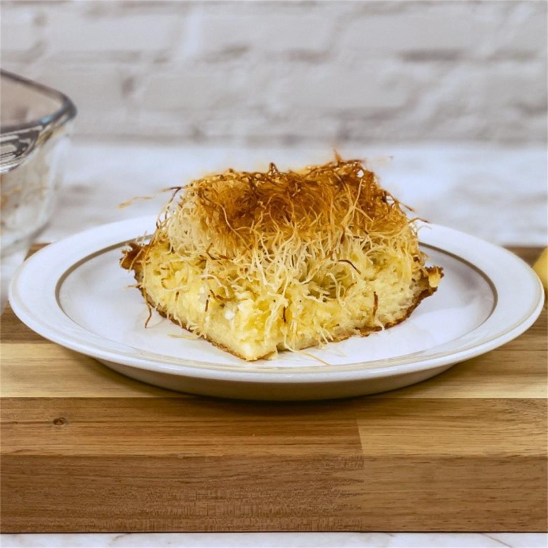 Kataifi Cheese Pie
