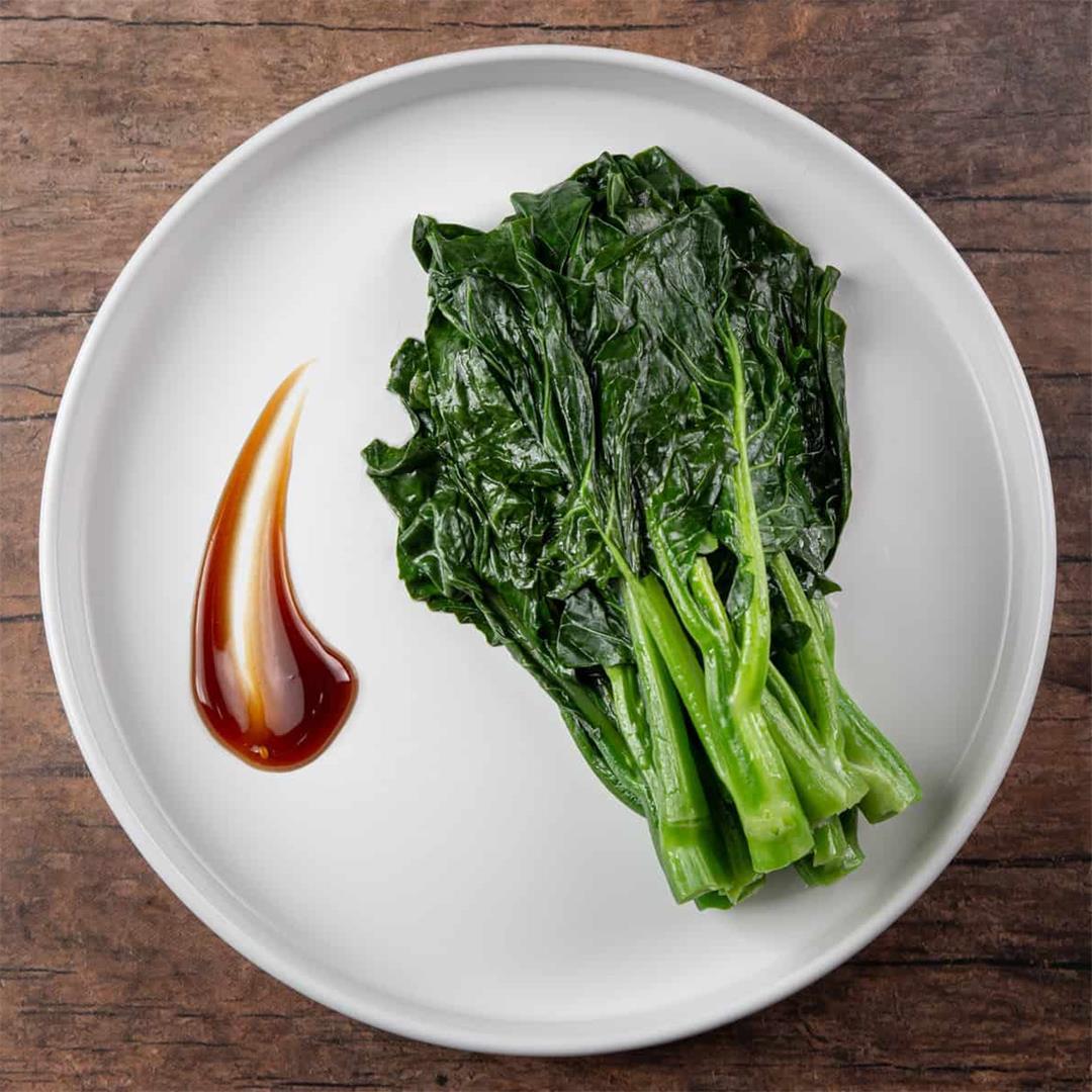 Perfect Crunchy Chinese Broccoli (Gai Lan) 蠔油芥籣