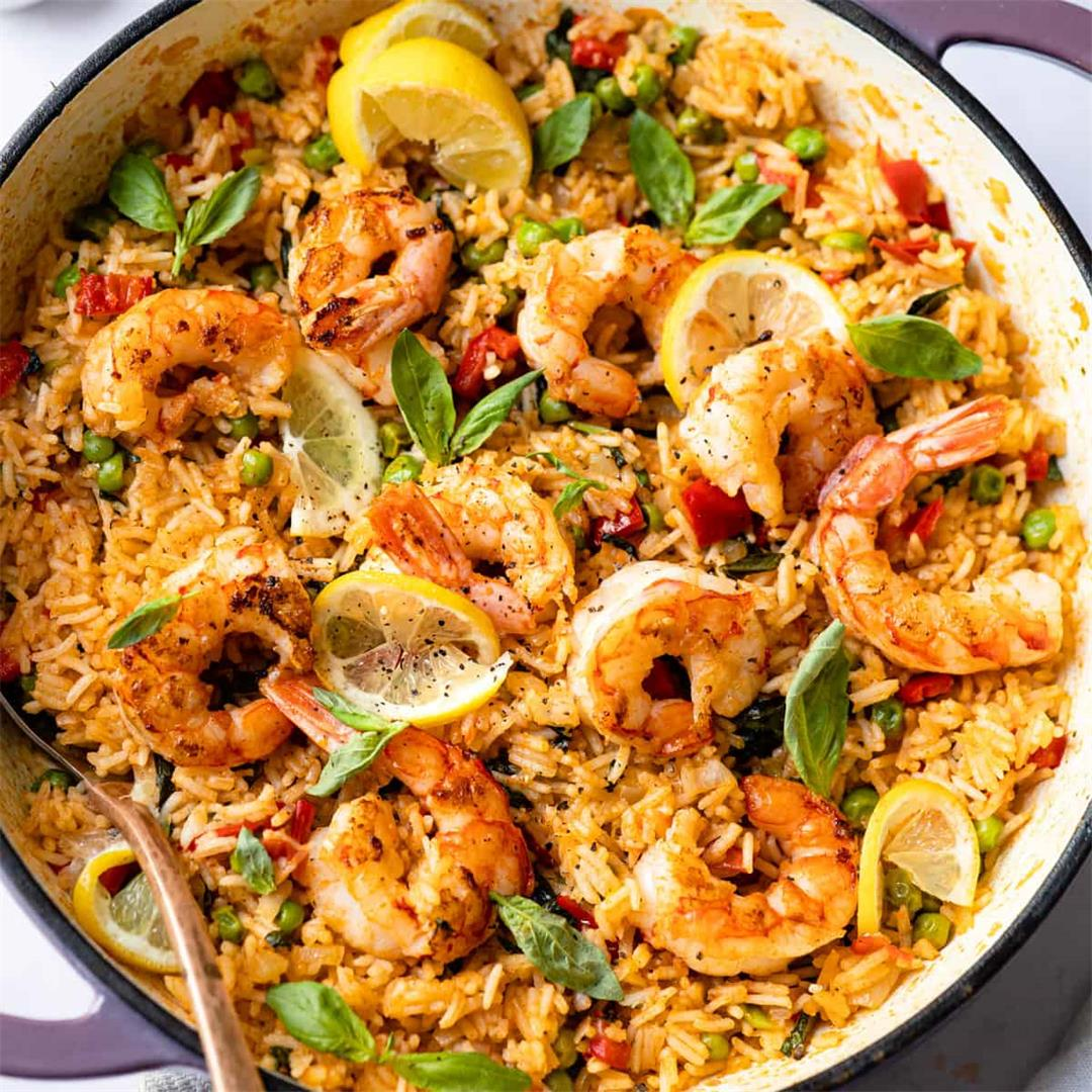 30 Minute Prawn Rice (Using Only Aldi Ingredients)