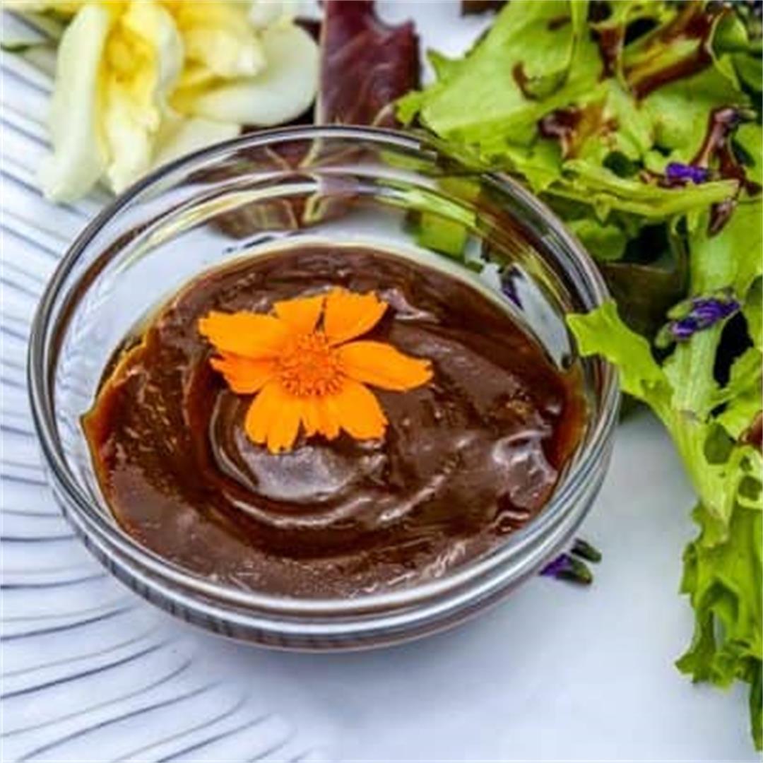 Balsamic Vinegarette with Dijon Mustard