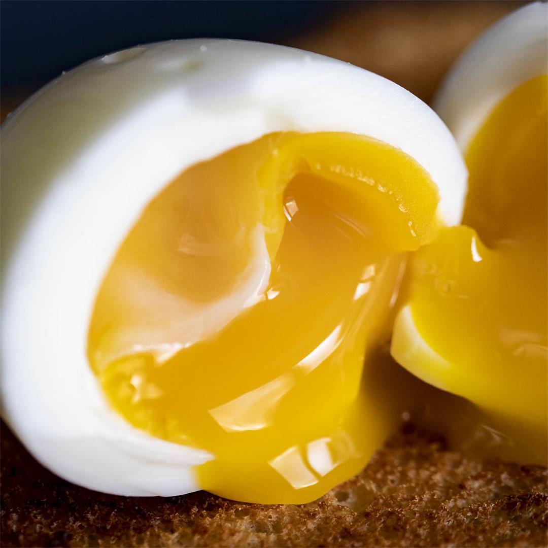 Sous Vide Soft Boiled Eggs