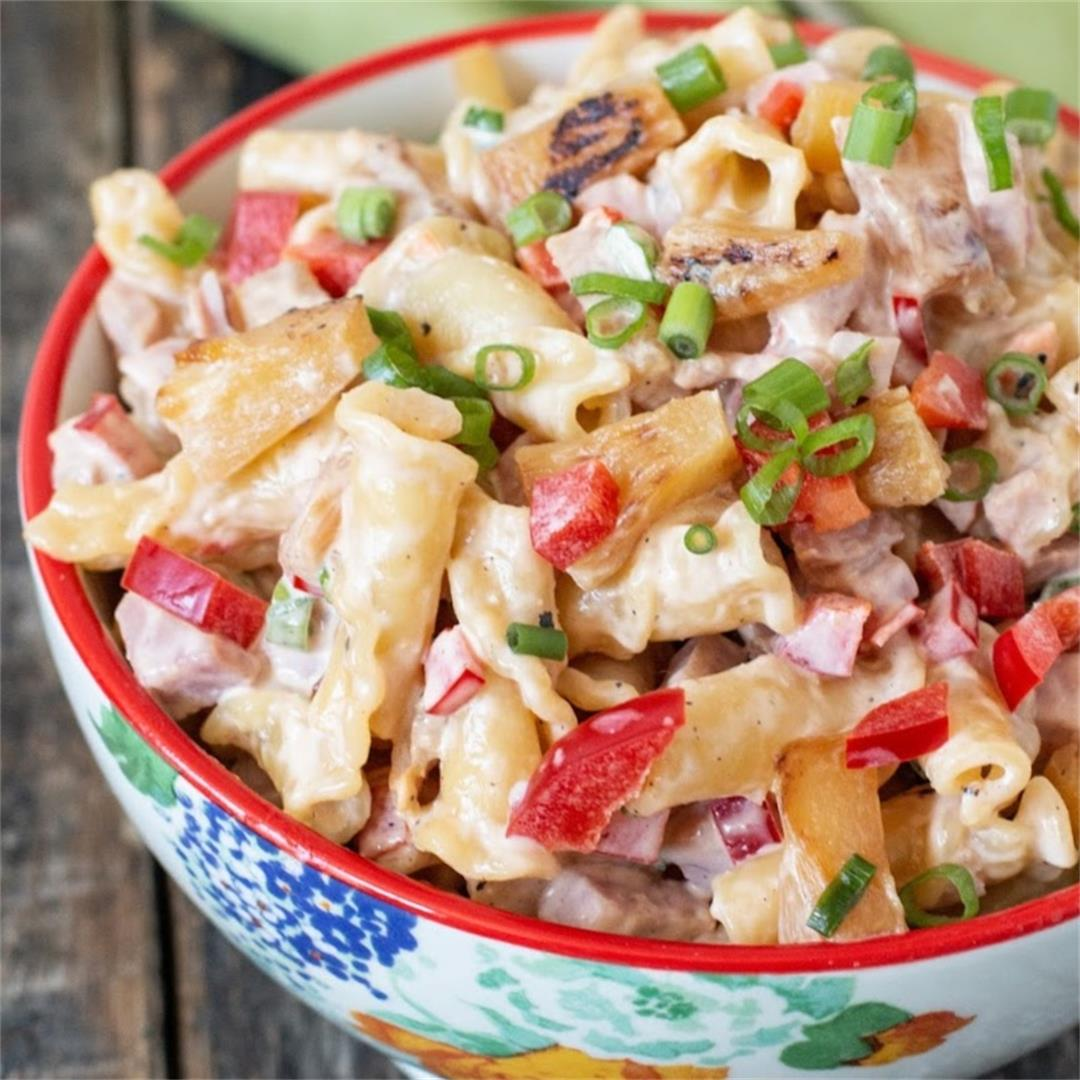 Hawaiian Pasta Salad Recipe
