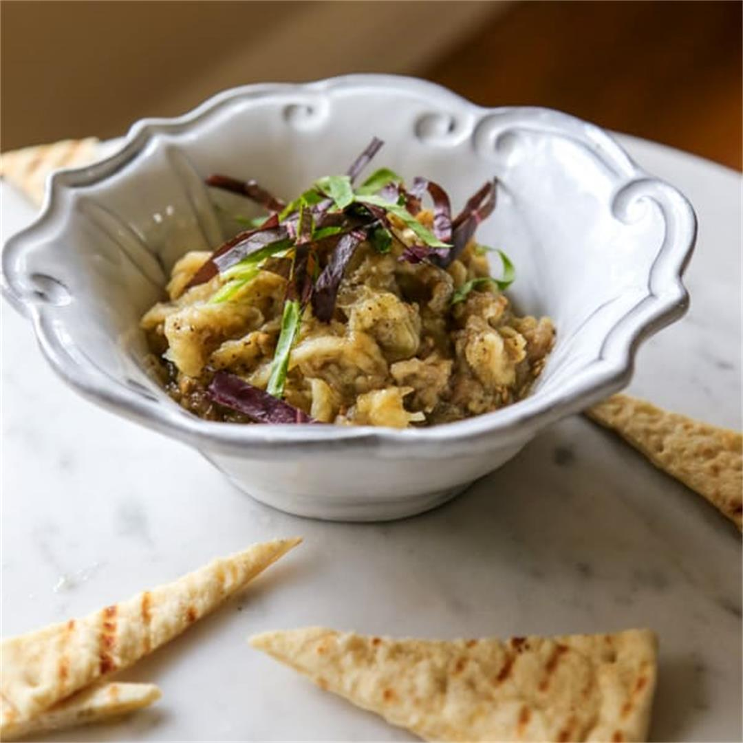 Roasted Eggplant Pate