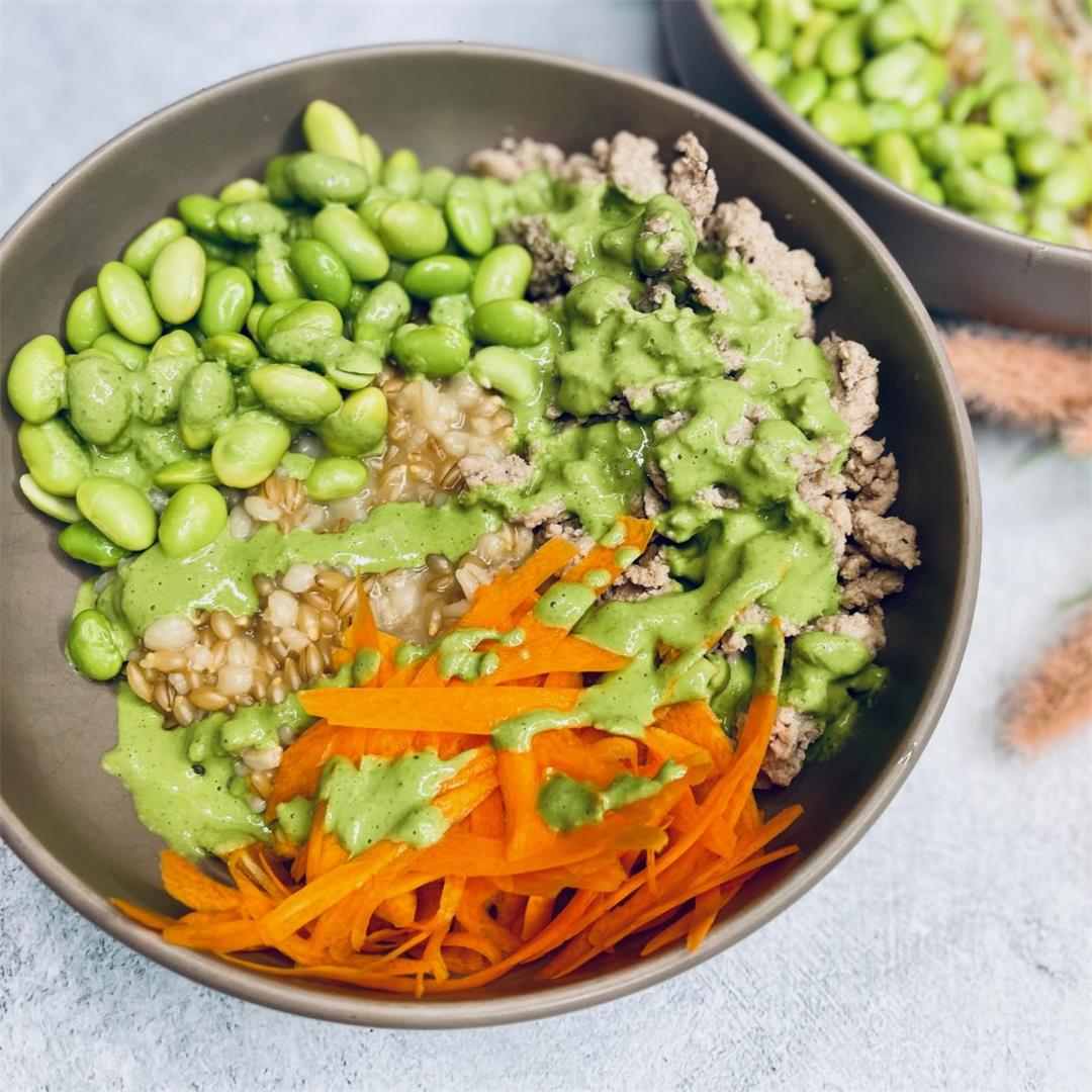 Tahini Pesto Bowls