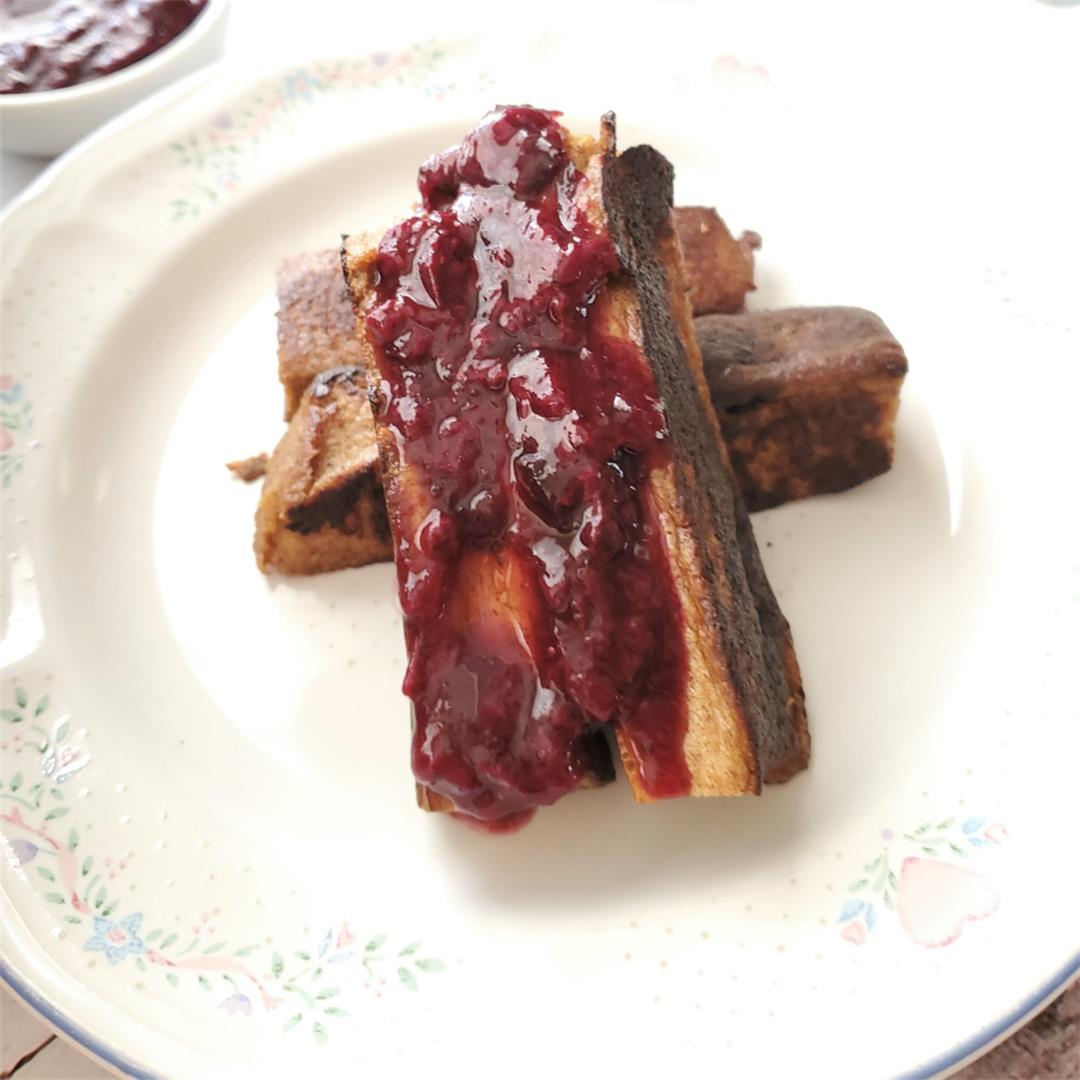 French Toast Sticks- Low Carb Breakfast On The Go