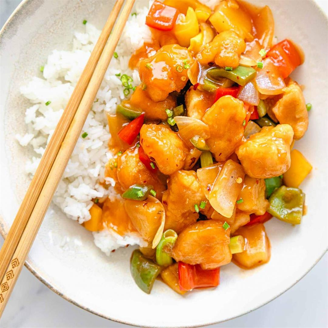 Sweet and Sour Chicken with Pineapple