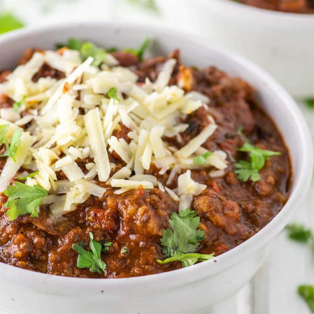Southern Homemade Chili