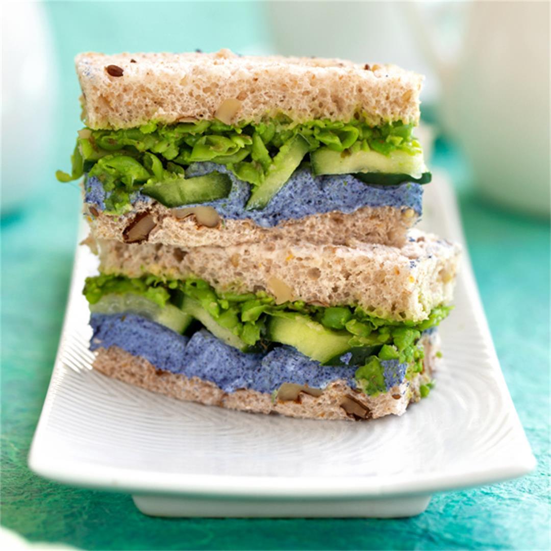 Pea Tea Sandwiches