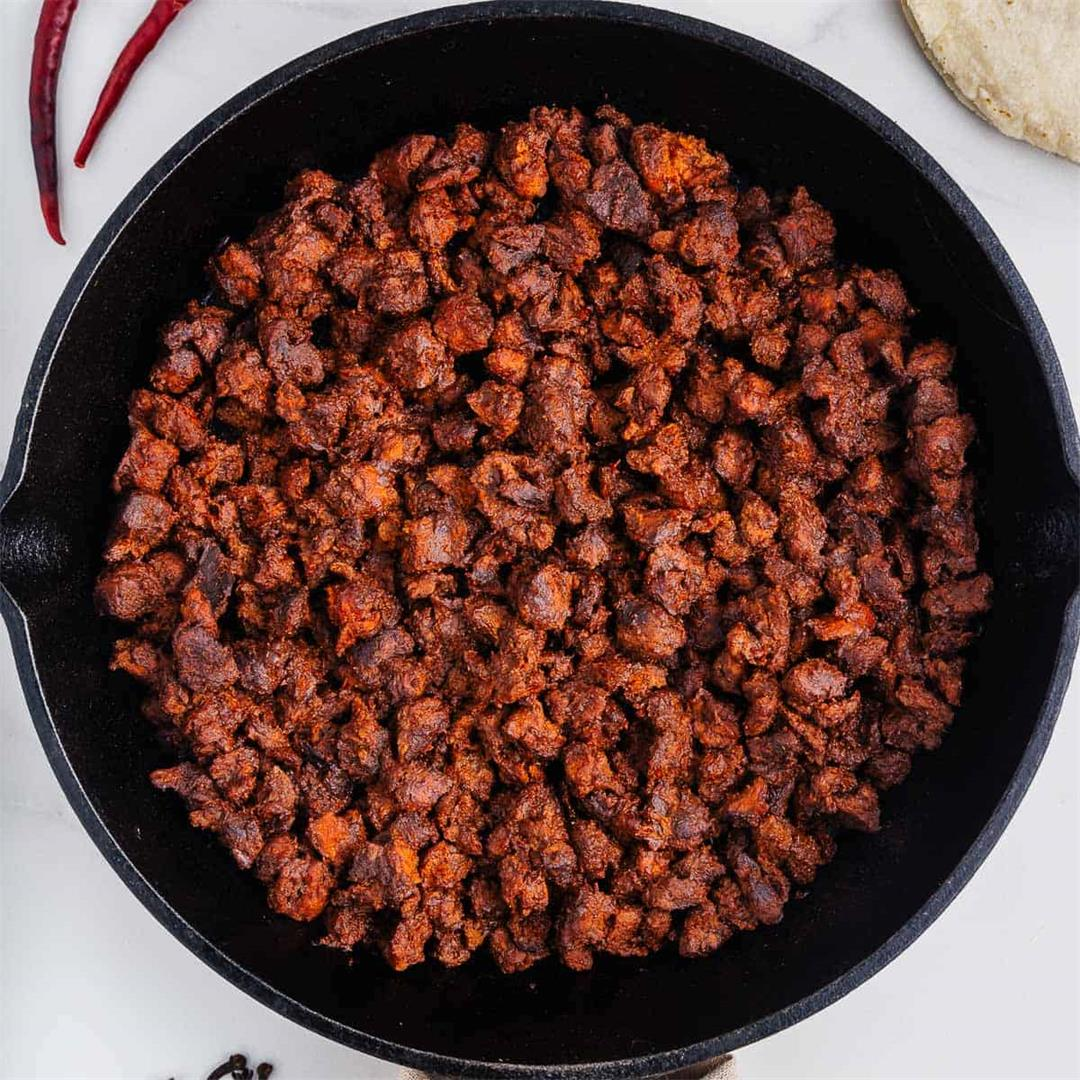 Vegan Chorizo (Mexican Soyrizo Recipe)