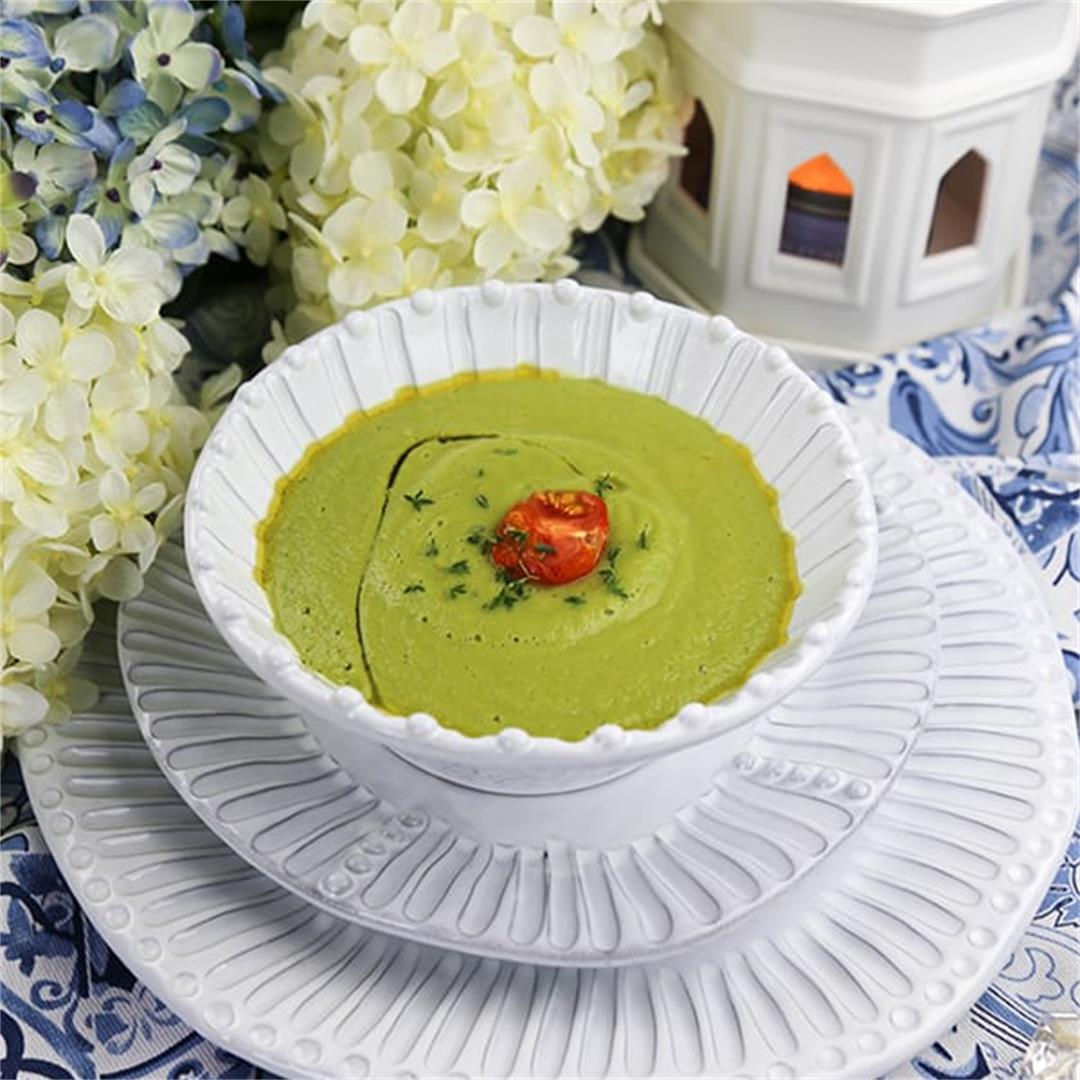 Pea Soup with Thyme in 20 Minutes