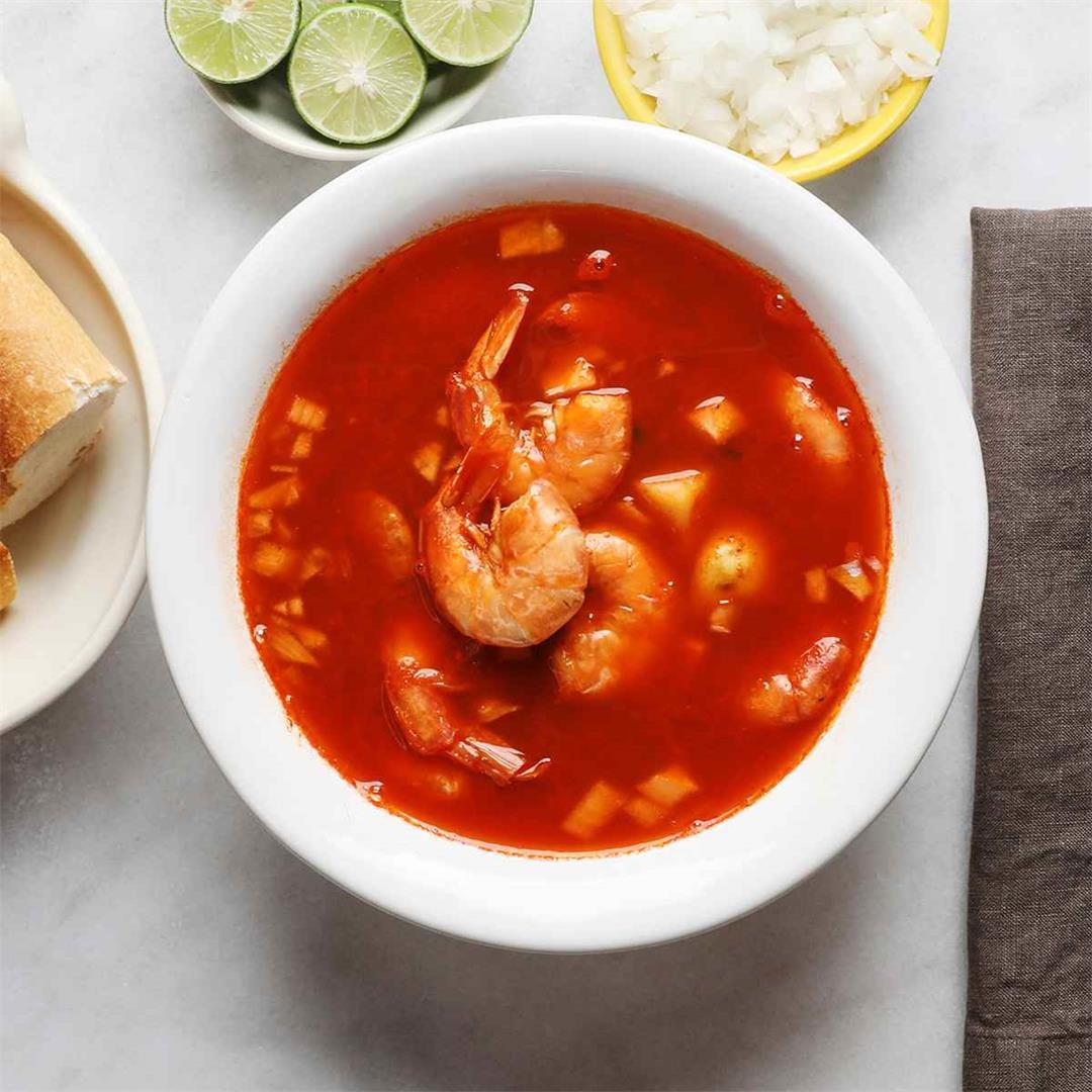 Caldo de Camaron - Shrimp Soup