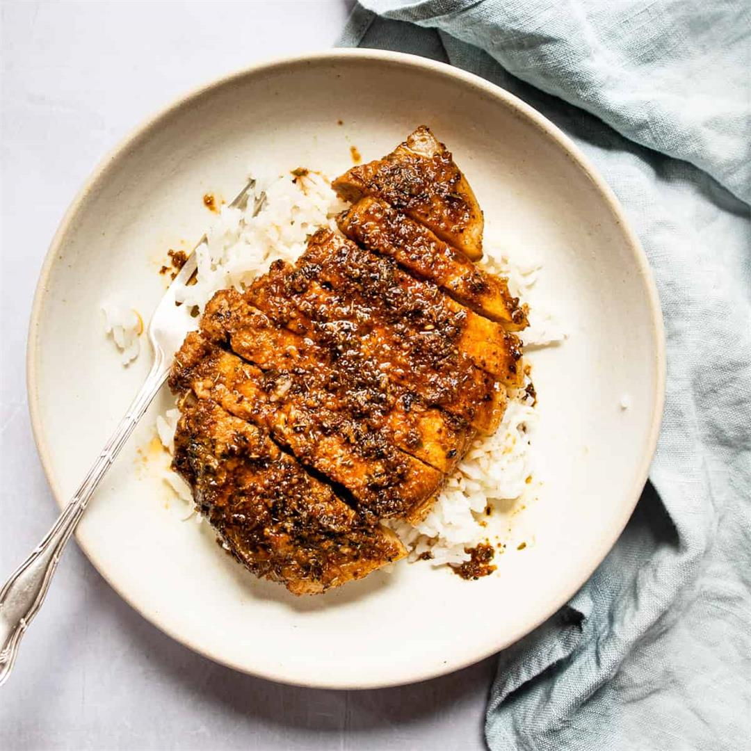 30 Minute Brown Sugar Pork Chops (one pan- 30 Minutes)