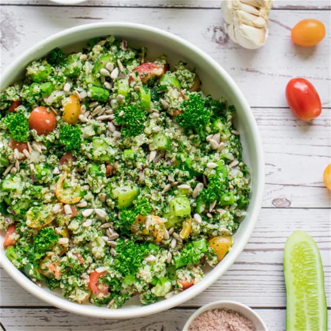 Quinoa Tabbouleh (Complete Protein Salad)