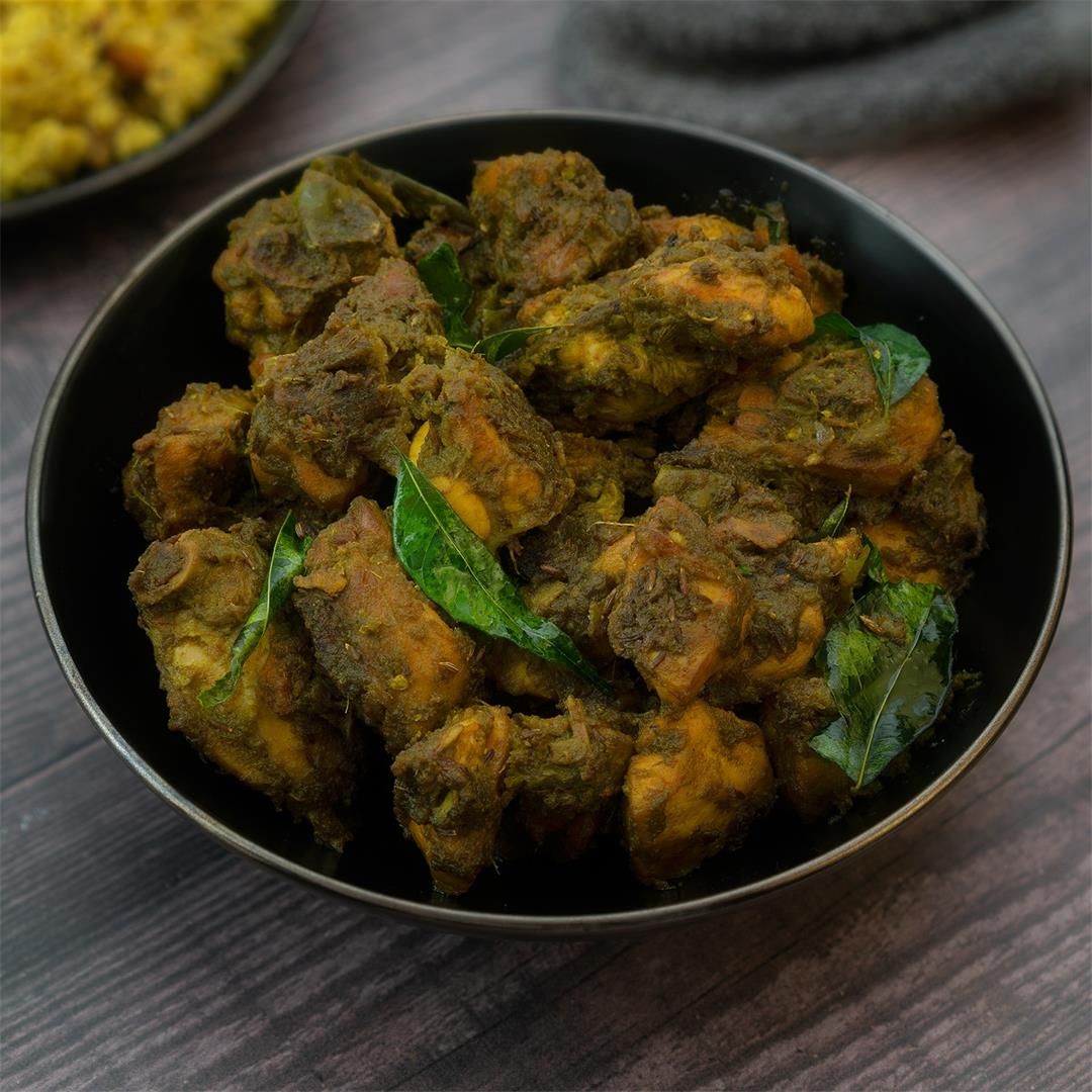 Andhra Green Chilli Chicken Recipe Restaurant Style