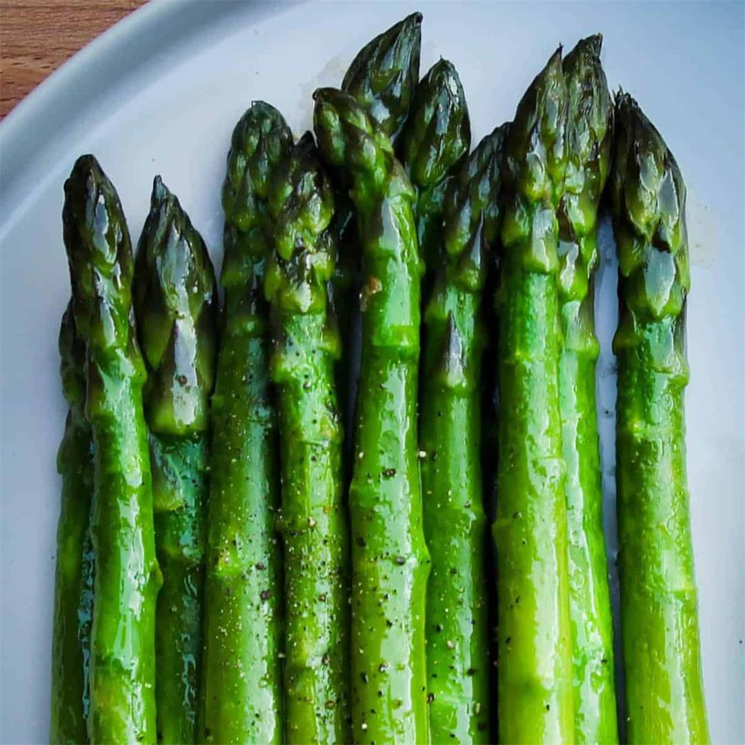 Sautéed Asparagus with Citrus Mayonnaise