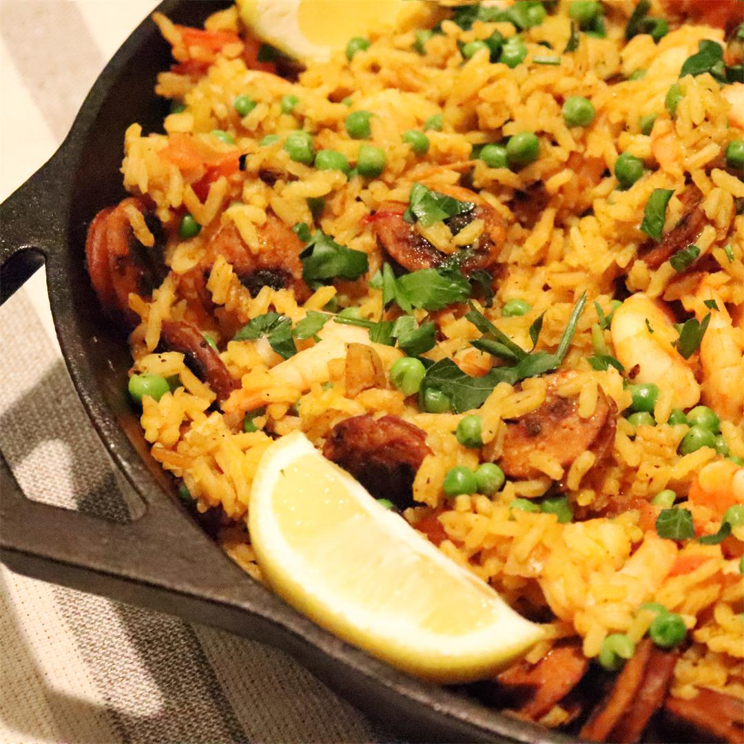 Cast Iron Spanish Paella