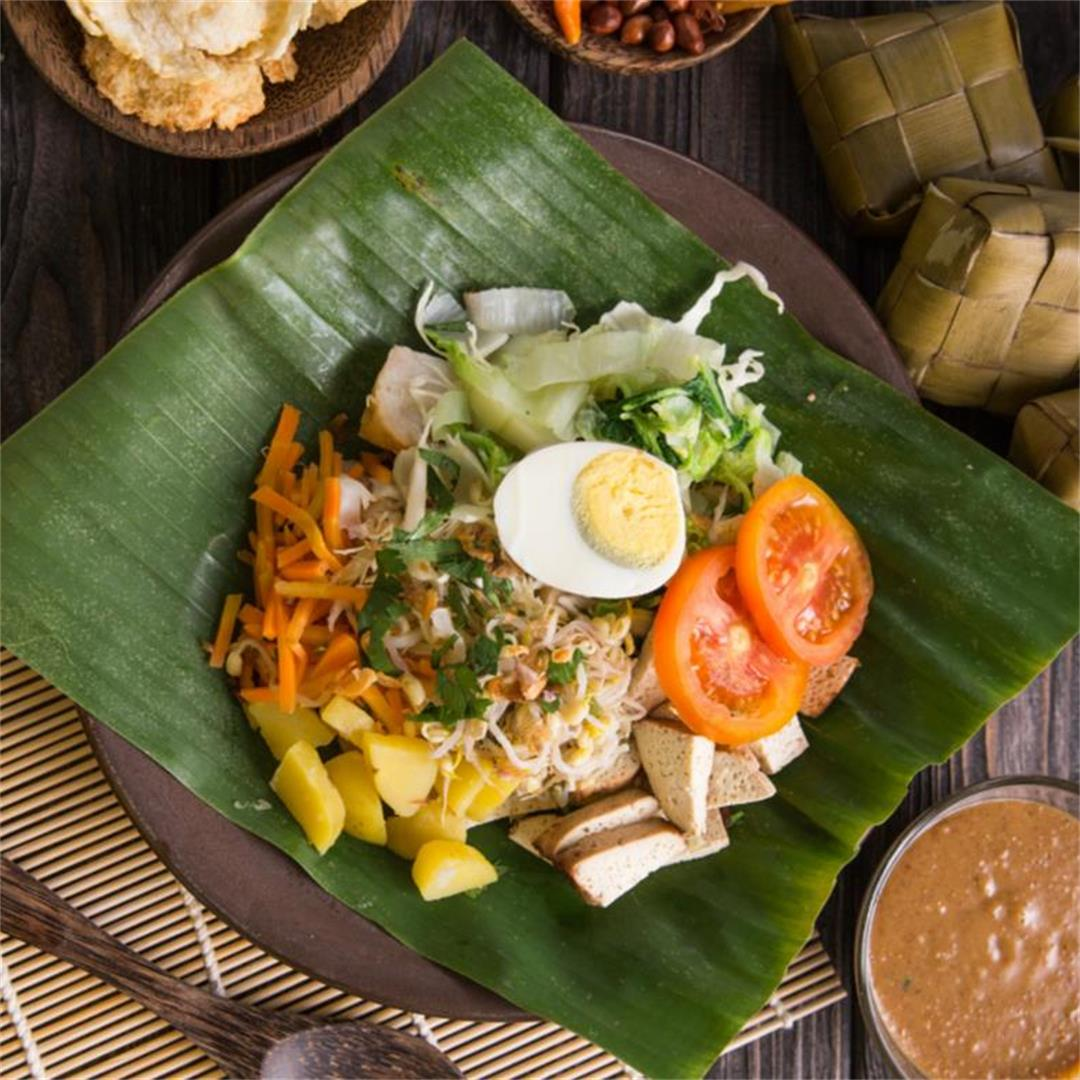 #meatfree Monday: Indonesian Gado Gado salad recipe