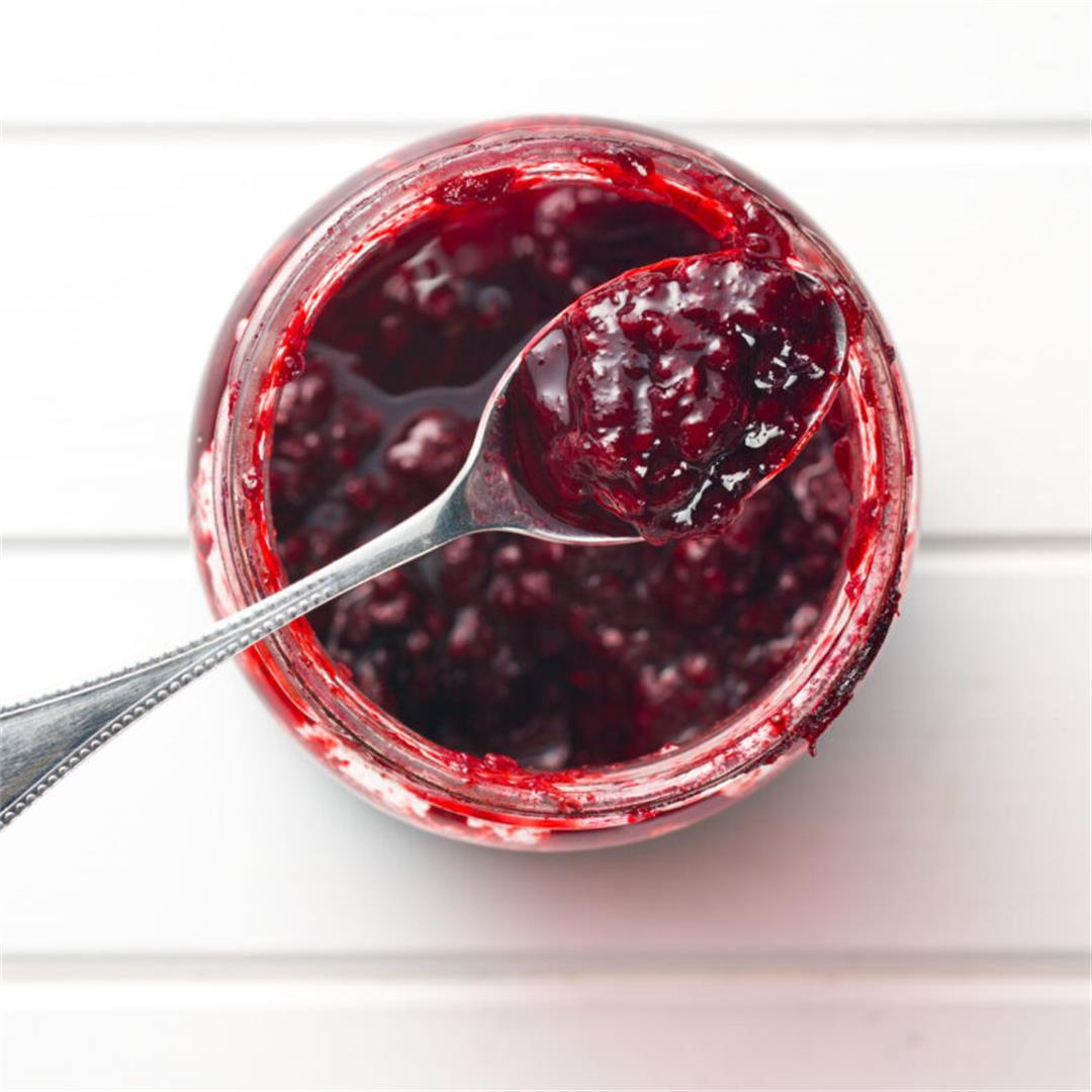 5-Ingredient Mixed Berry Fruit Jam