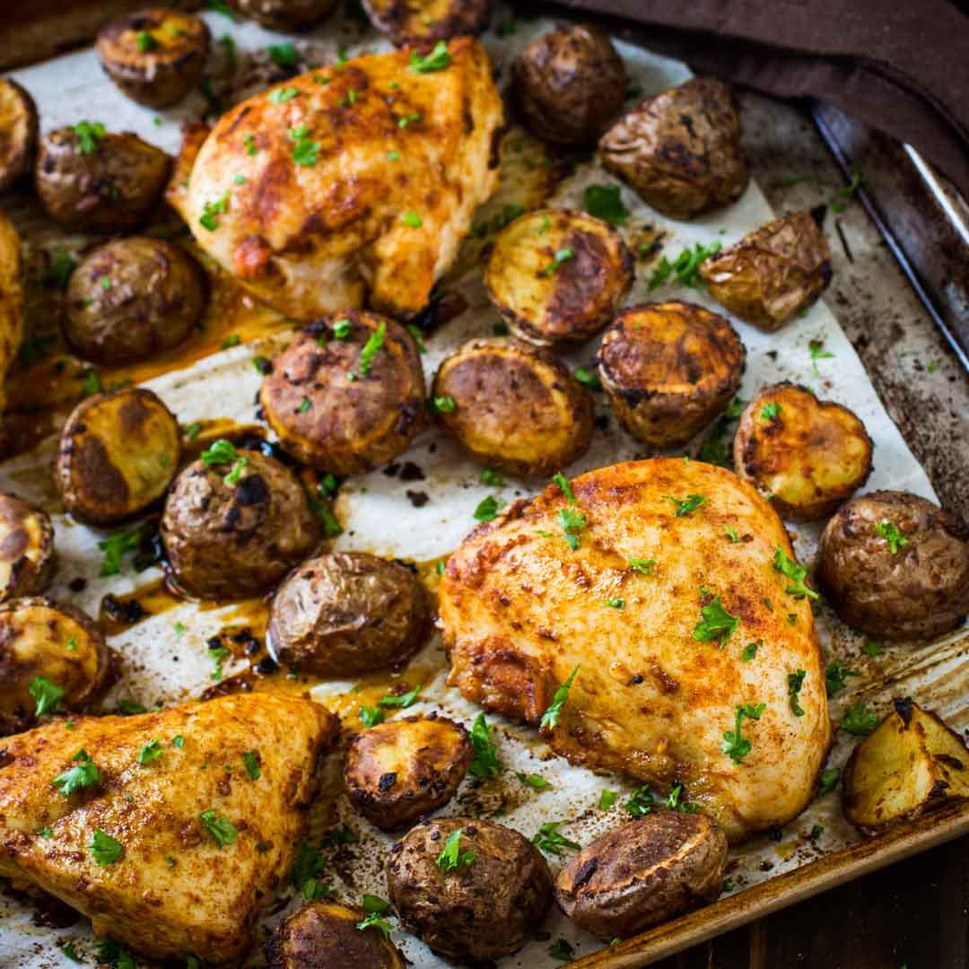Chicken Tray Bake with Potatoes