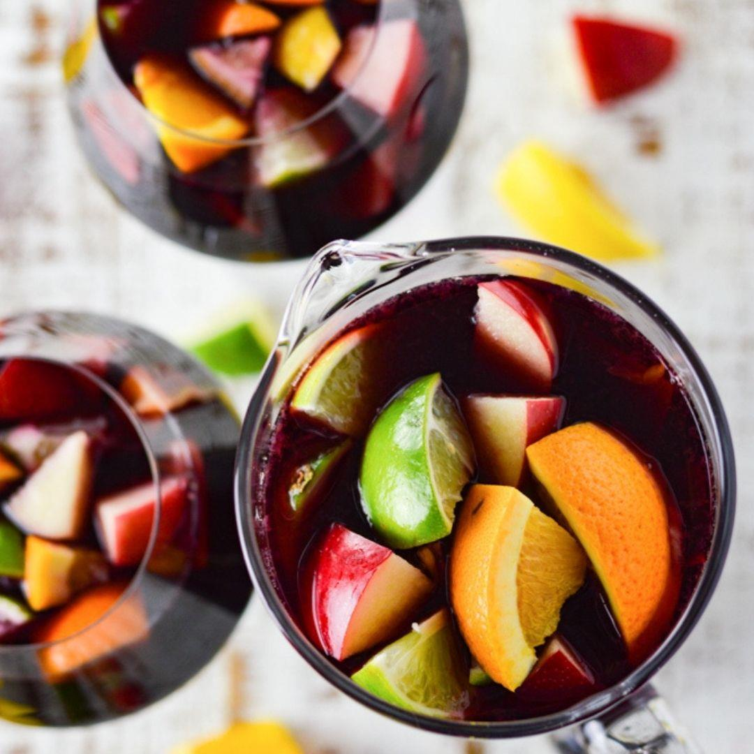 Red Wine Sangria with Brandy