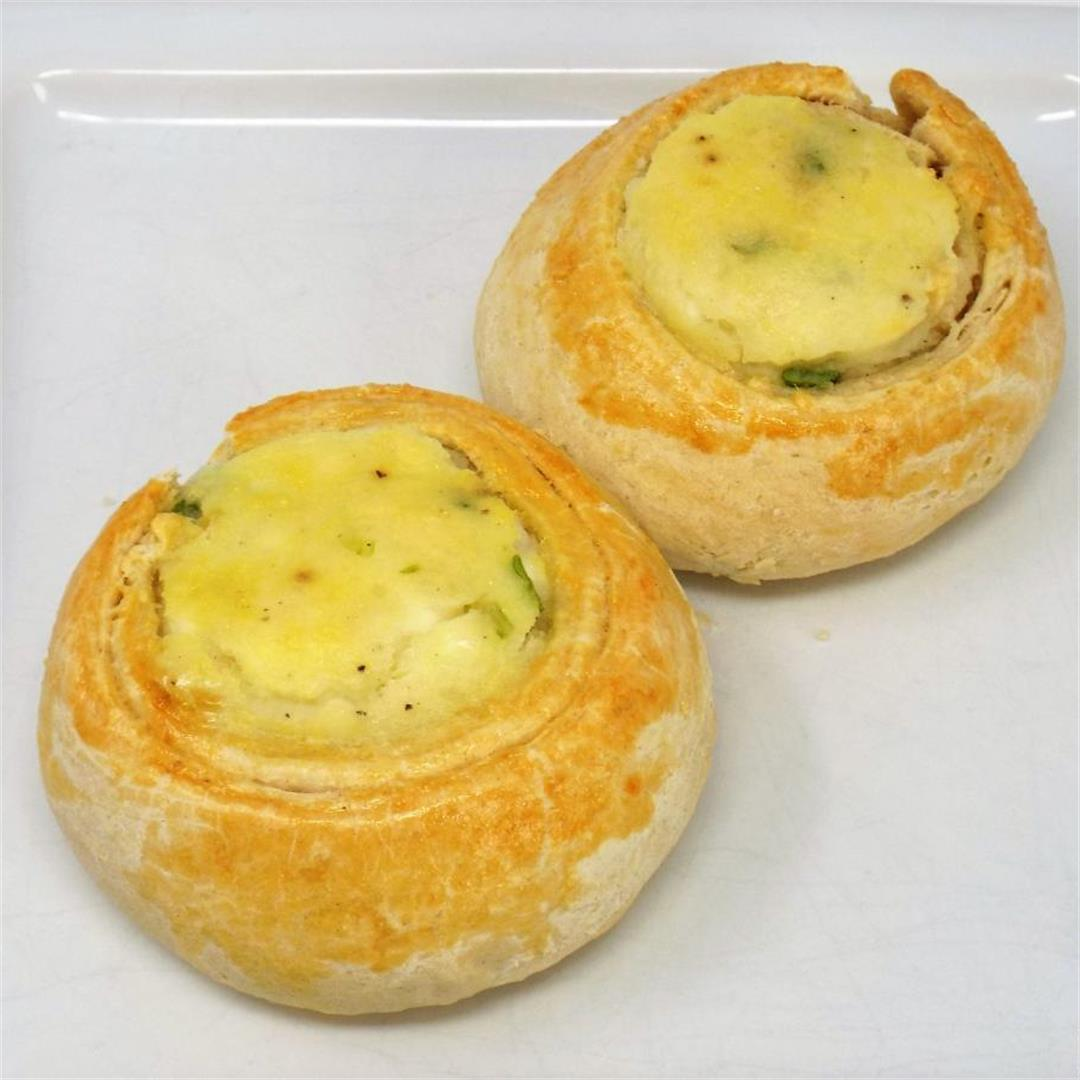 Potato and Cheese Knish