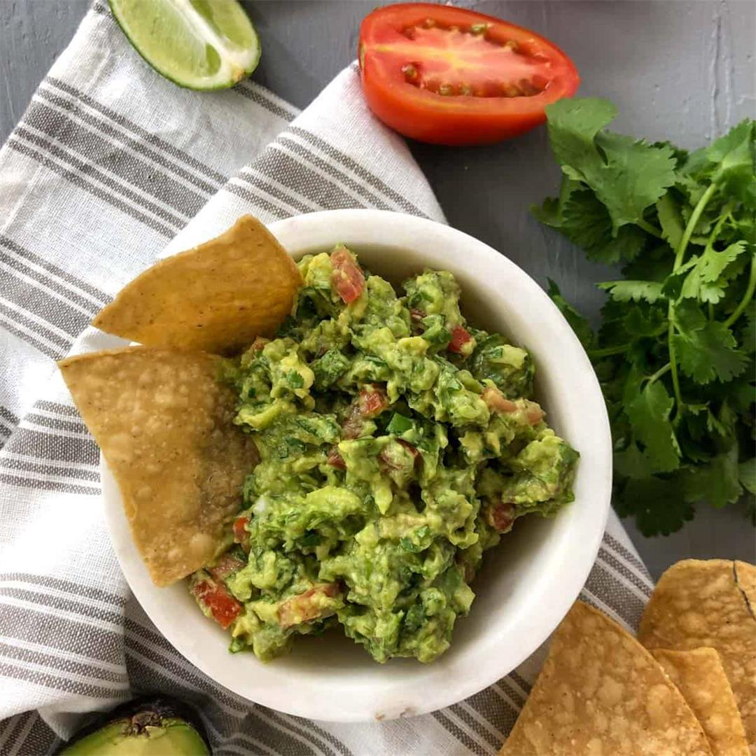 the best freshly made guacamole