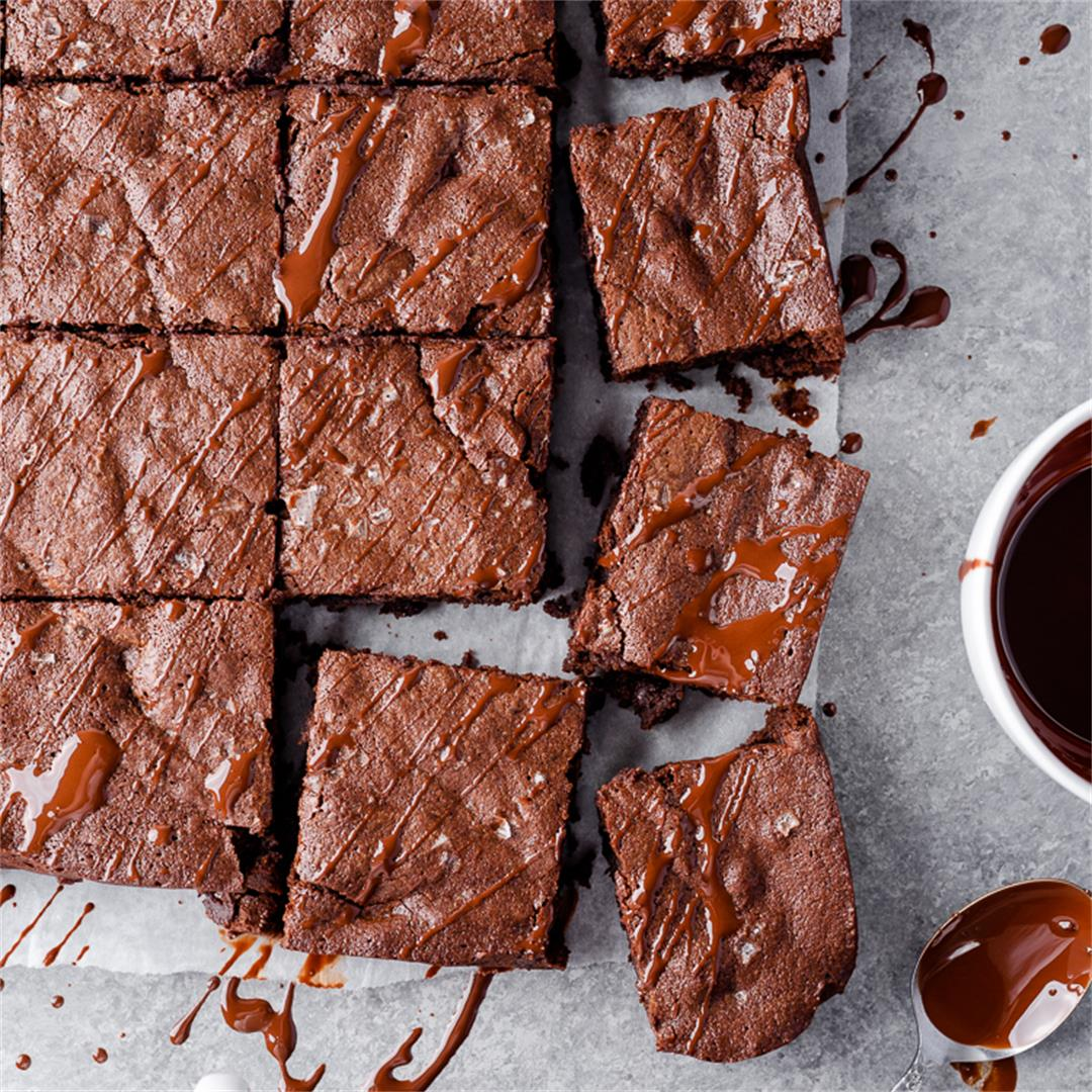 Perfect Fudgy Gluten Free Brownies