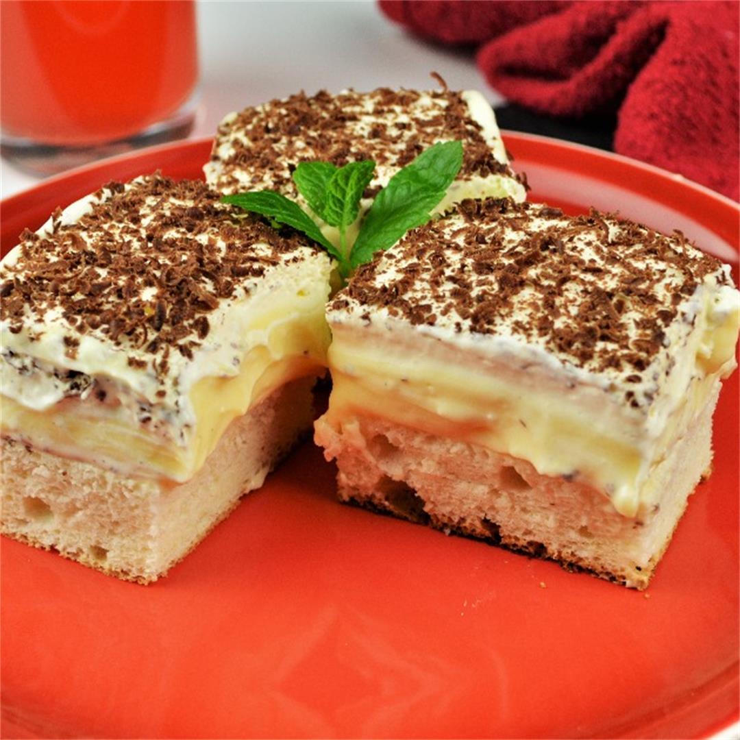 Delicious Floating Island Cake Recipe-Timea's Kitchen