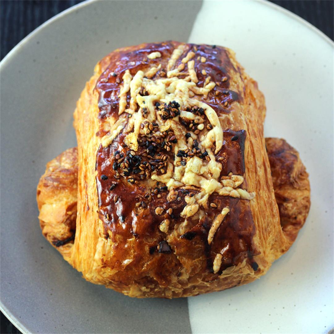 The Croissubi (French croissant meets Hawaiian musubi)