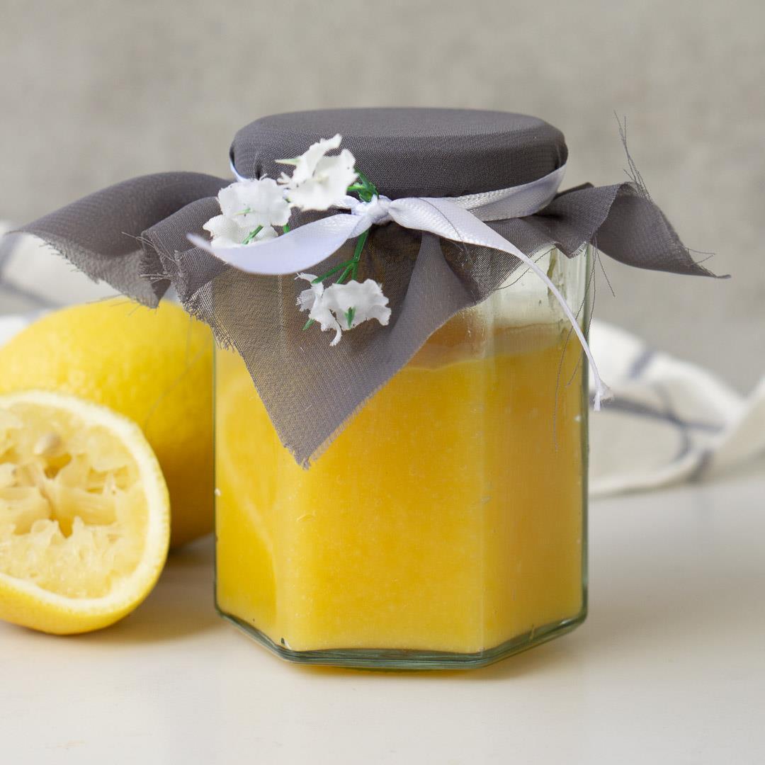 Homemade Lemon Butter (Dairy-Free)