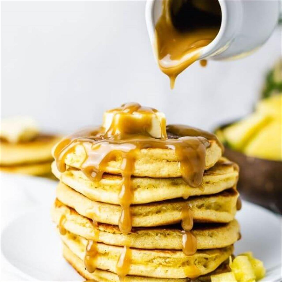 Pineapple Pancakes Gluten Free