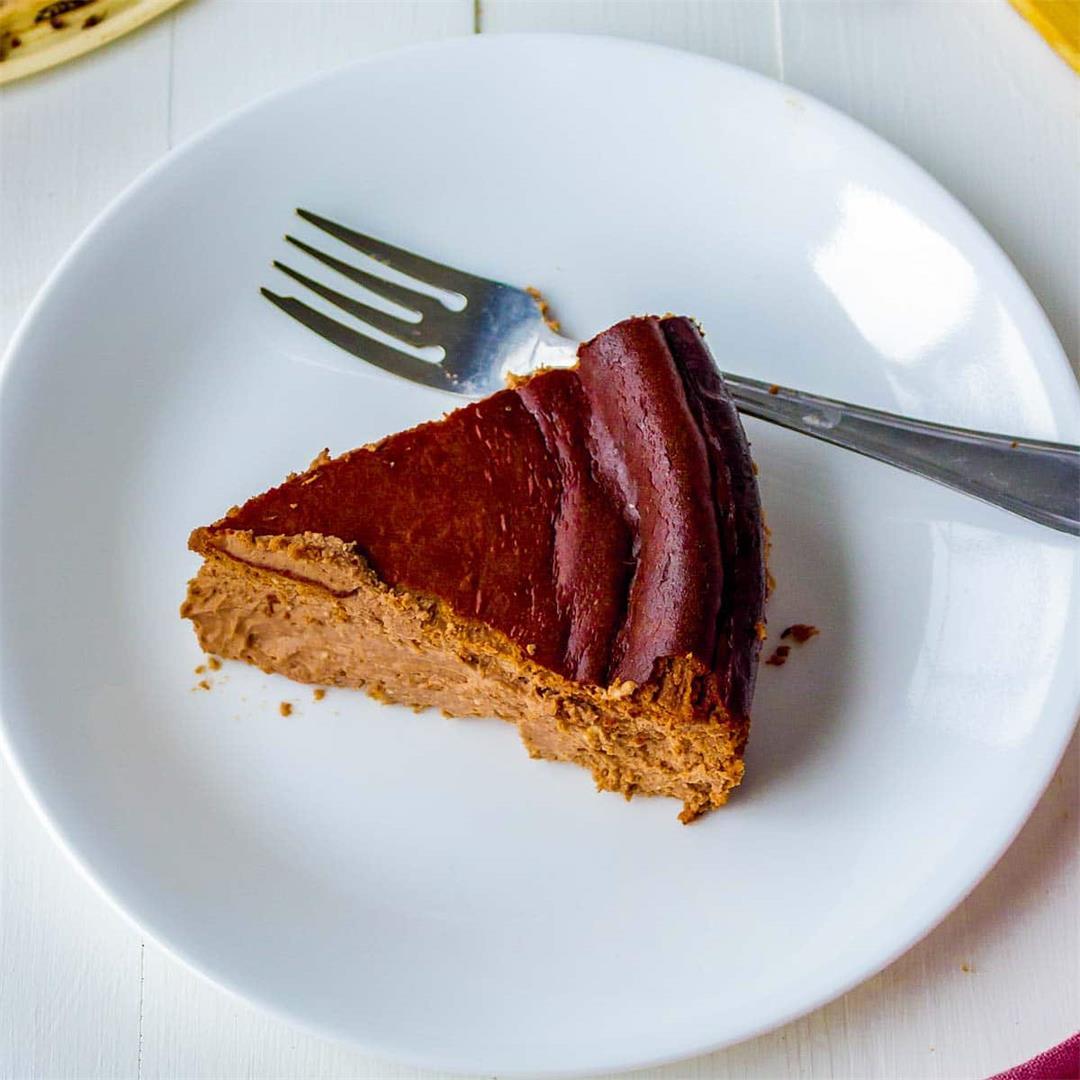 Chocolate Basque Cheesecake
