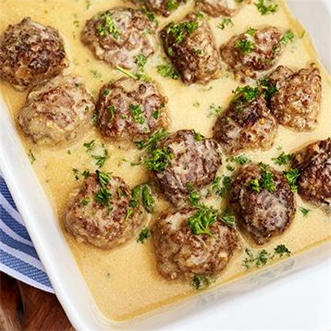 Wagyu Beef Swedish Meatballs