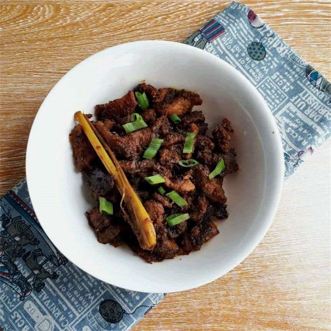 Slow Cook Beef Rendang Recipe