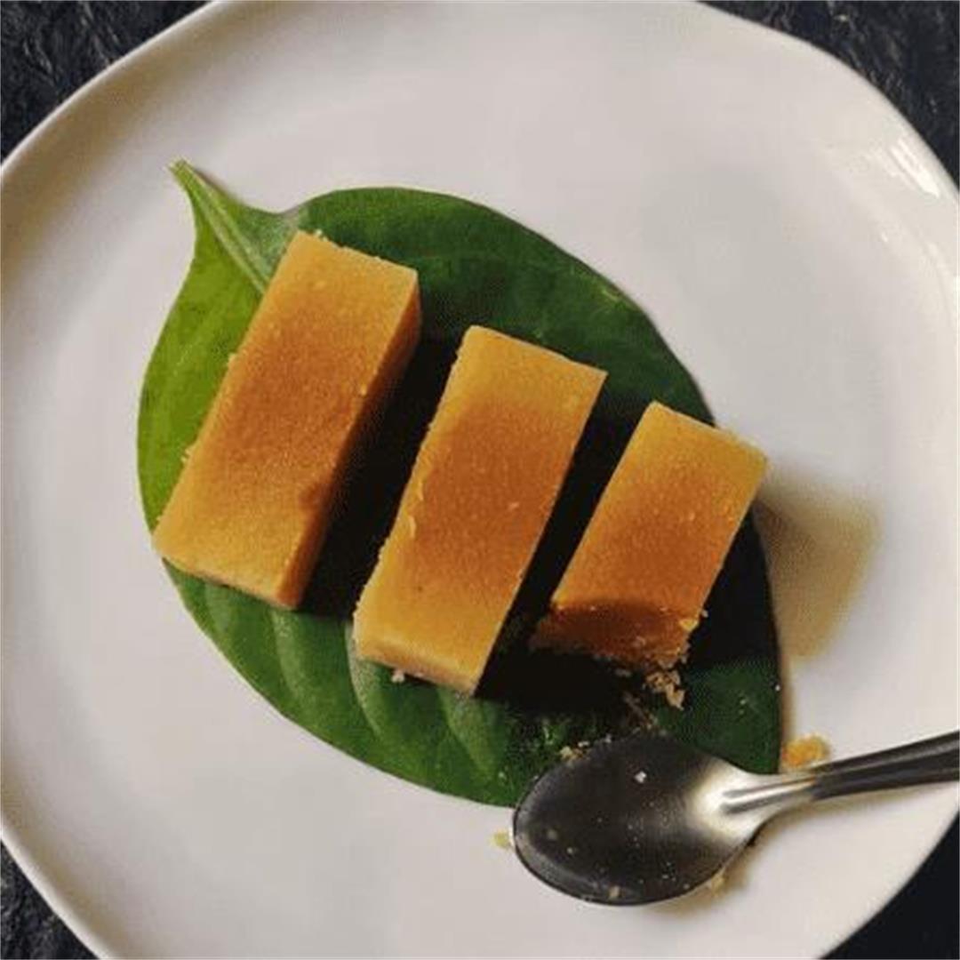 Delicious Easy Mysore Pak Recipe