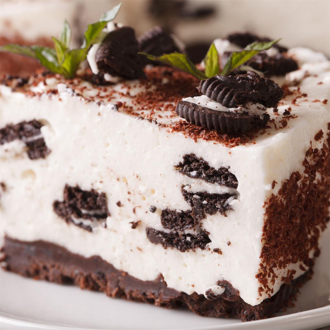 Easy No Bake Oreo Cheesecake Recipe