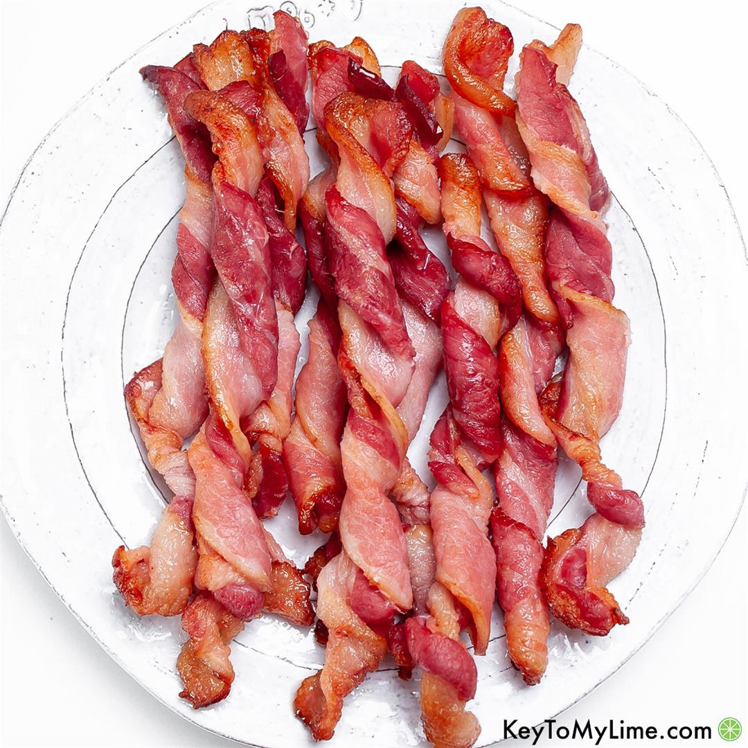 Twisted Bacon Recipe {Viral TikTok Trend + VIDEO}