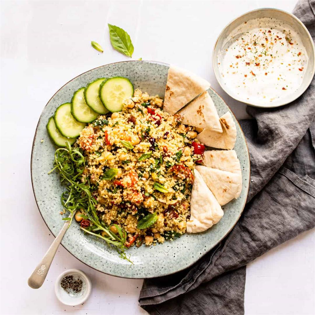 15 Minute Moroccan CousCous (Aldi ingredients only)