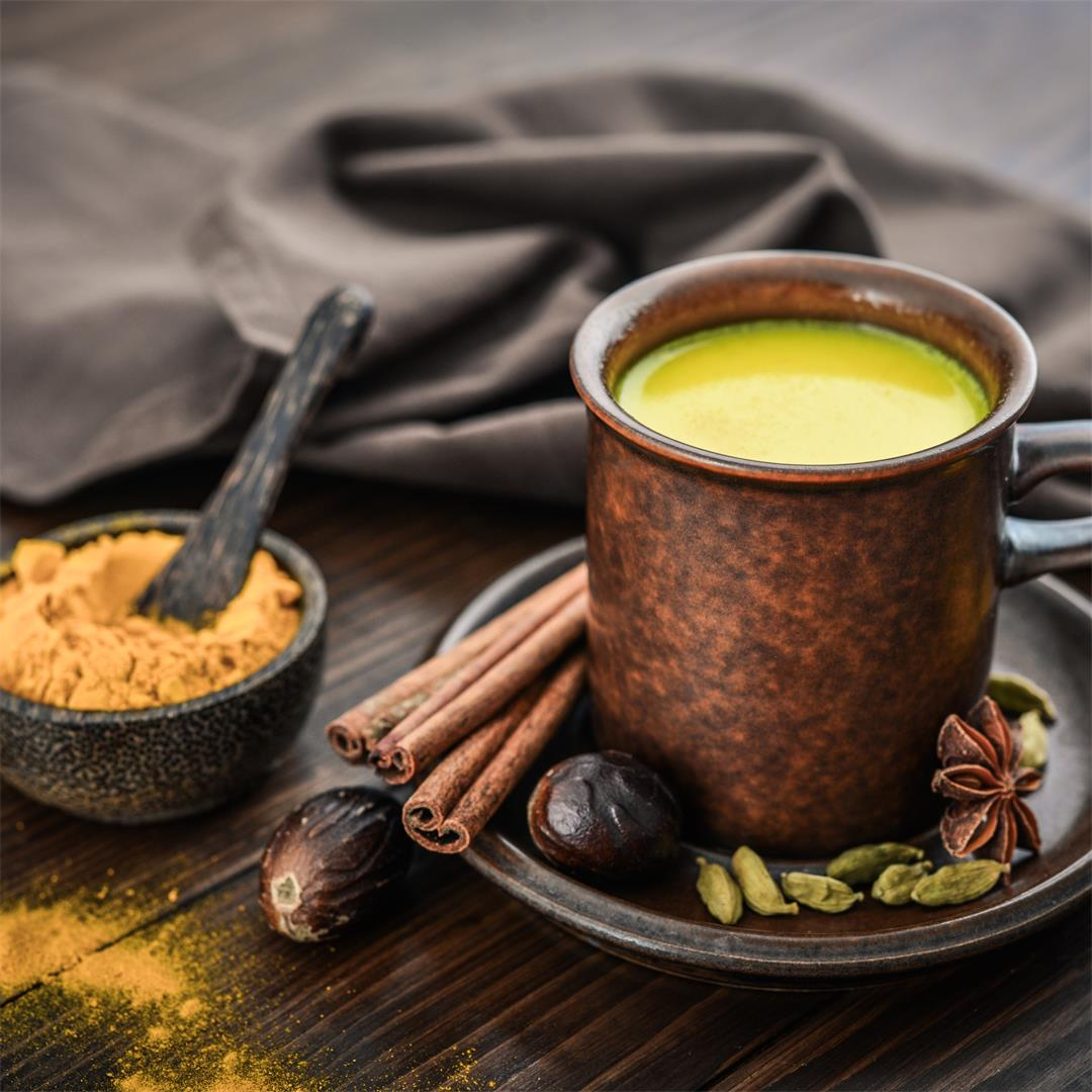 Golden Milk (Haldi ka Doodh) – An Ayurvedic Recipe