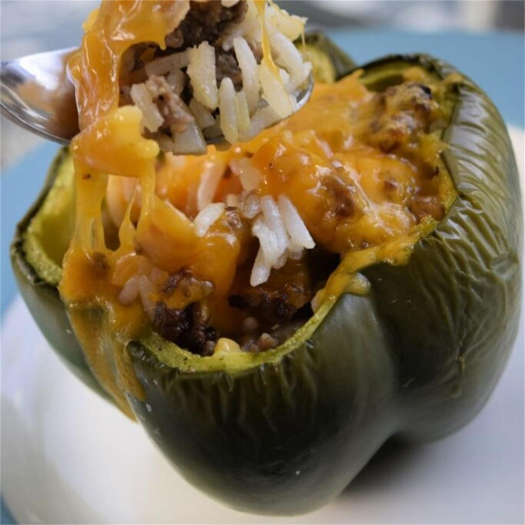 Sausage And Rice Stuffed Peppers Recipe