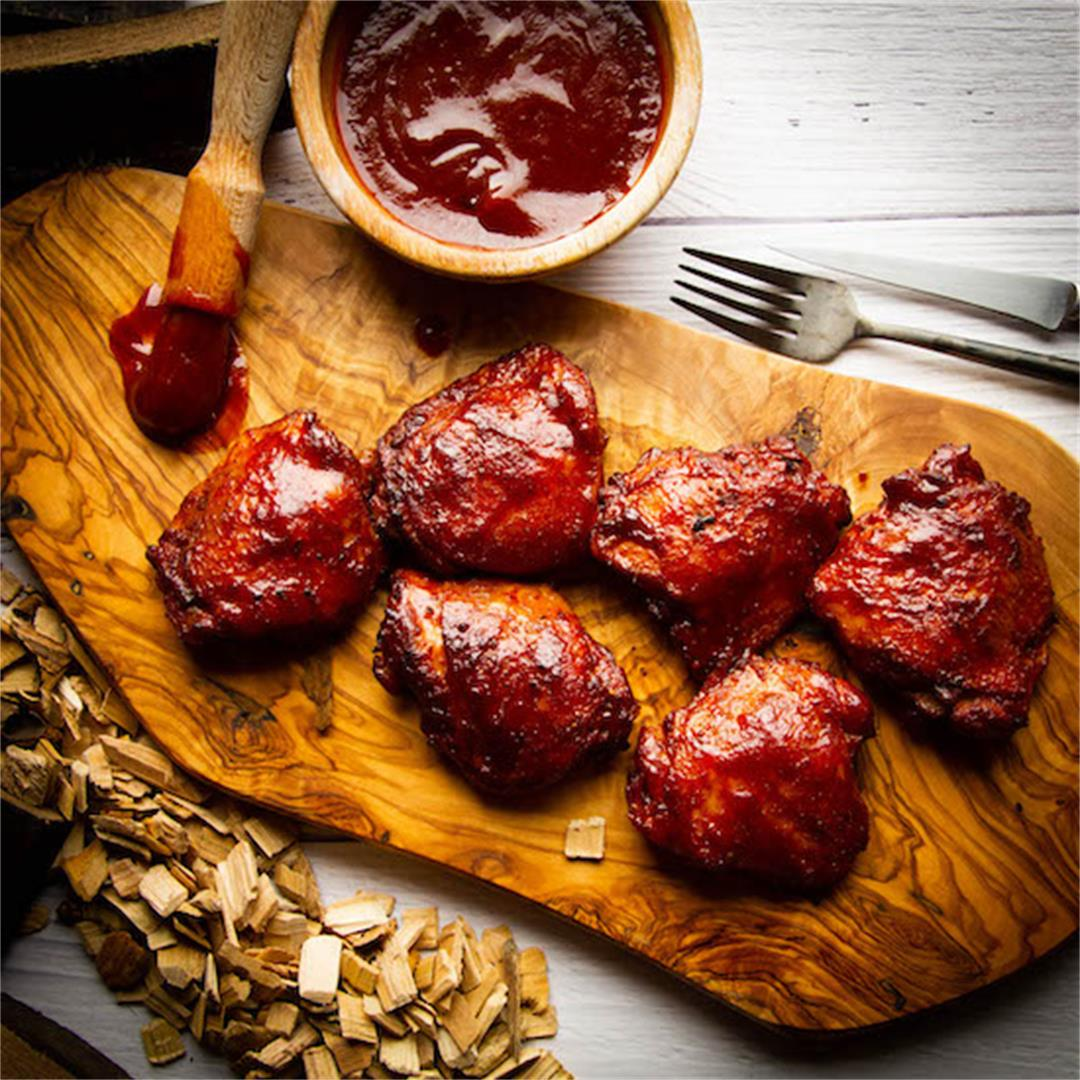 Legendary Smoked Chicken Thighs