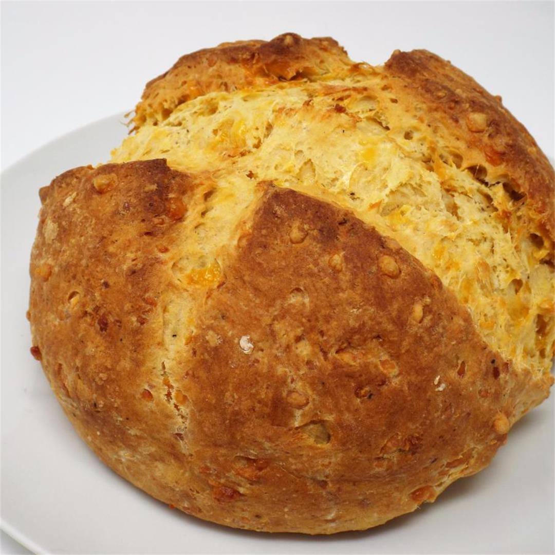 Cheesy Potato Quick Bread