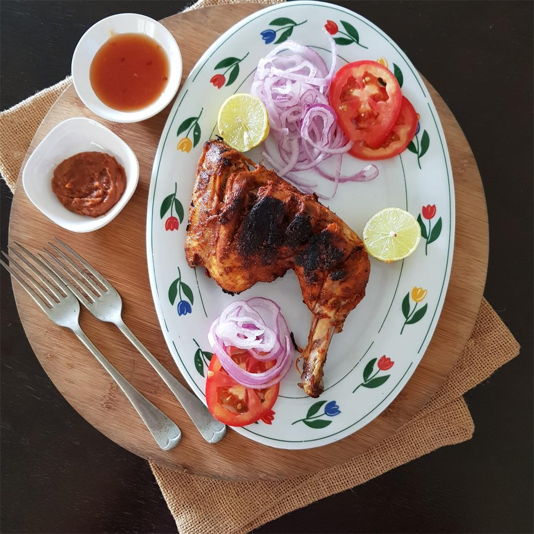 Easy and simple Grilled chicken/how to make grilled chicken |