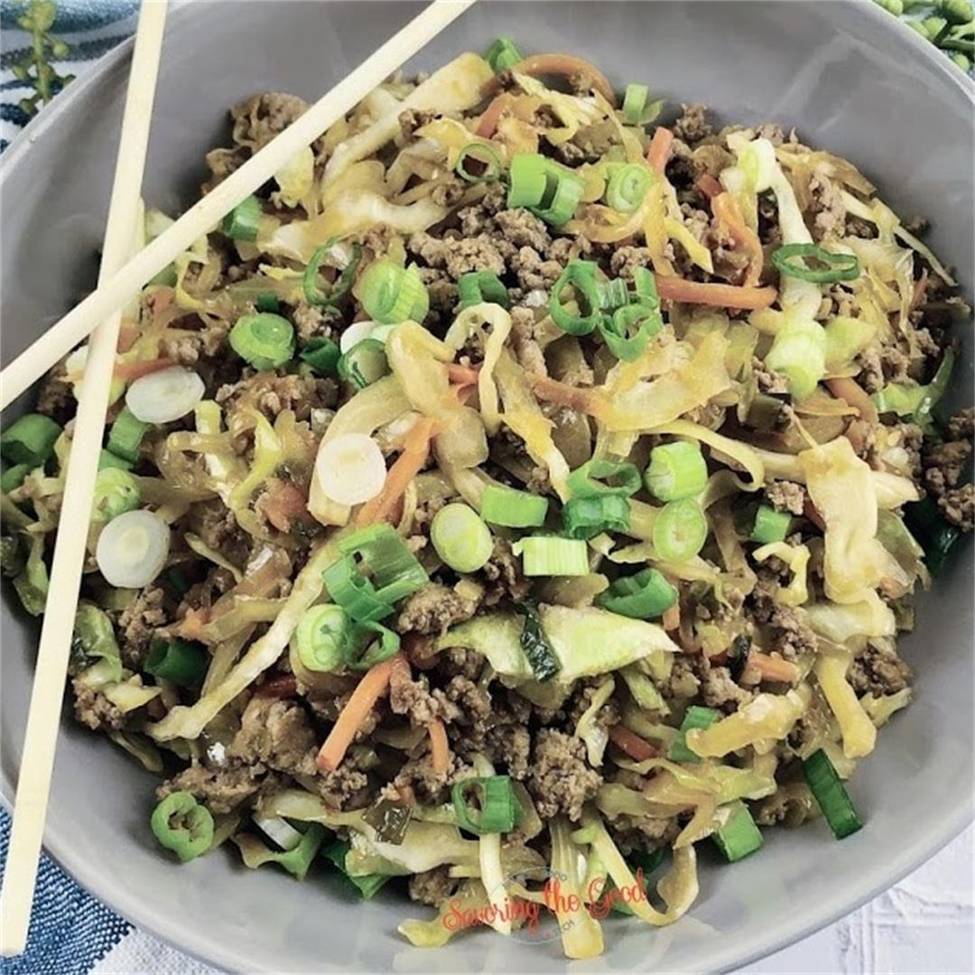 WW Egg Roll In A Bowl Recipe (3 points)