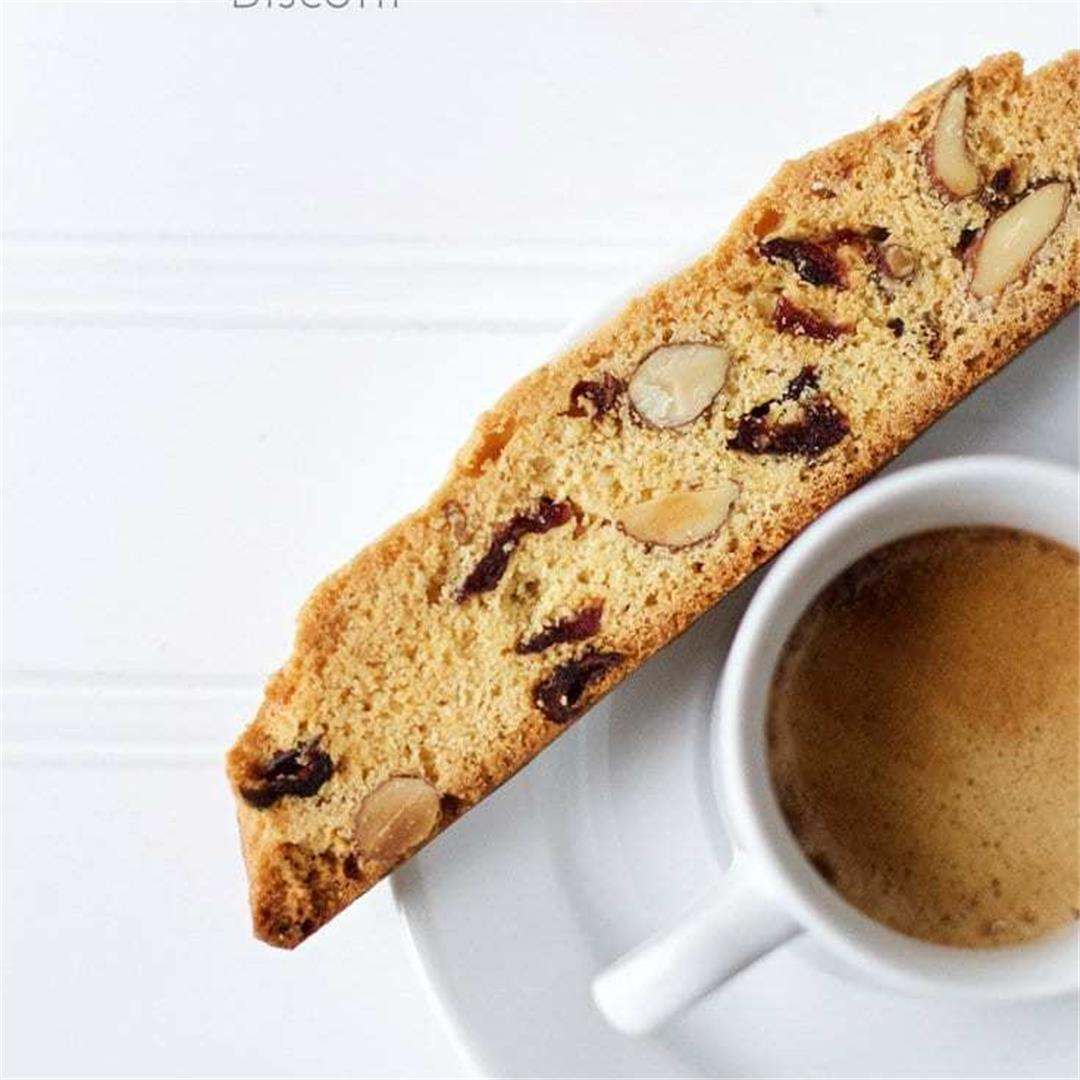 Cranberry, Almond Biscotti Recipe. Step By Step, Easy Instructi