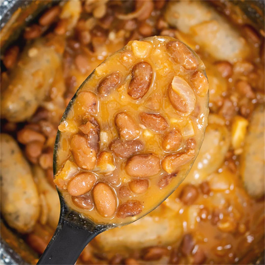 Canned Pinto Beans and Rice with Sausage