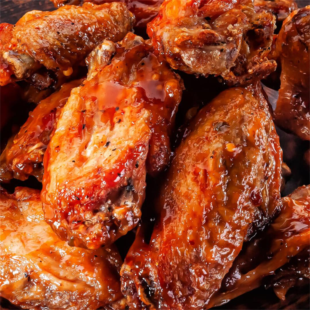Spicy Sweet Grilled Cajun Wings Recipe By Cake-N-Knife