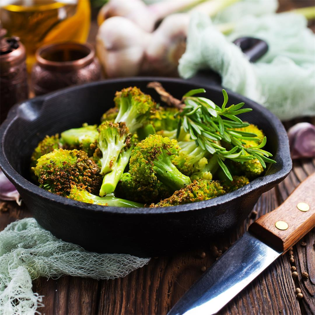 Oven Roasted Broccoli Recipe By JoyFoodSunshine