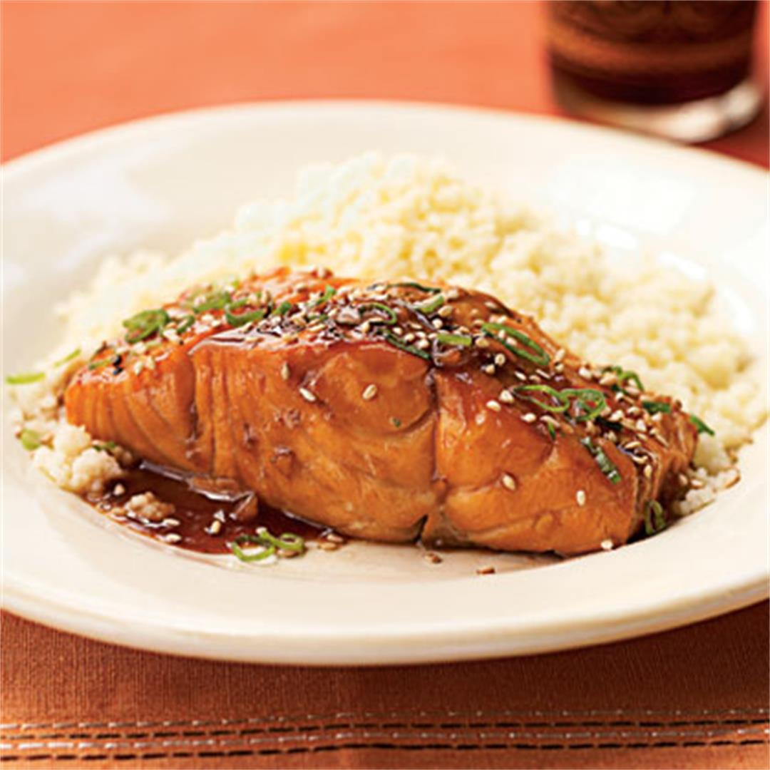 Perfectly Grilled Bourbon Glazed Salmon By Health.com