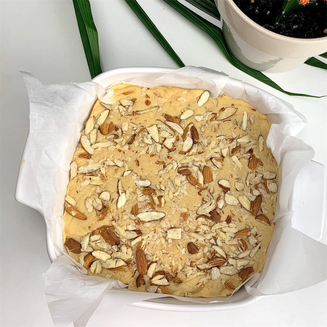 Ricotta Cheese Kalakand(Milk Burfi)